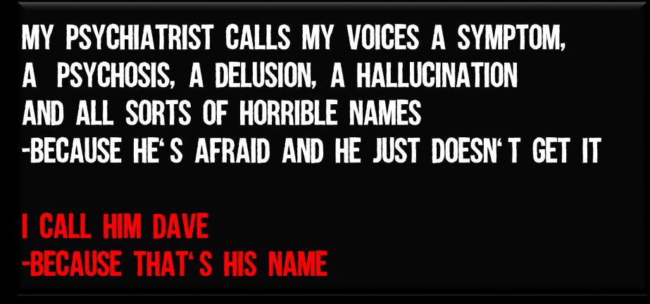 I call him dave